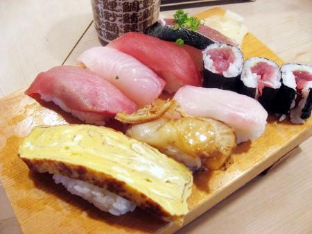 熊谷市別府1丁目「吾妻寿司」の寿司ランチ