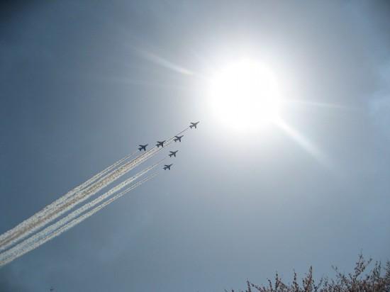 4月7日(日)は航空自衛隊熊谷基地さくら祭り2013