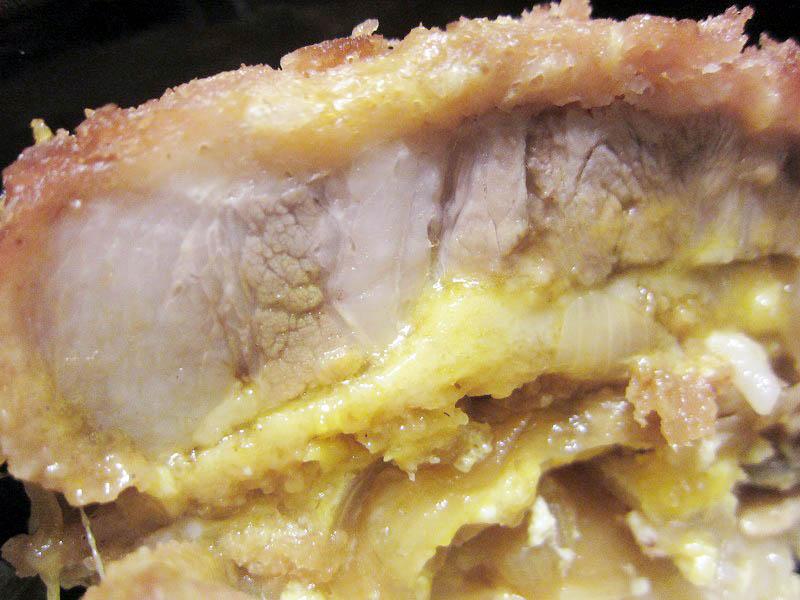 熊谷市新堀「のんきや肉店」の500円カツでカツ丼を作ろう!