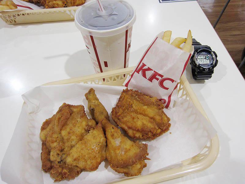 今日はKFC食べ放題祭り!その2 激闘編