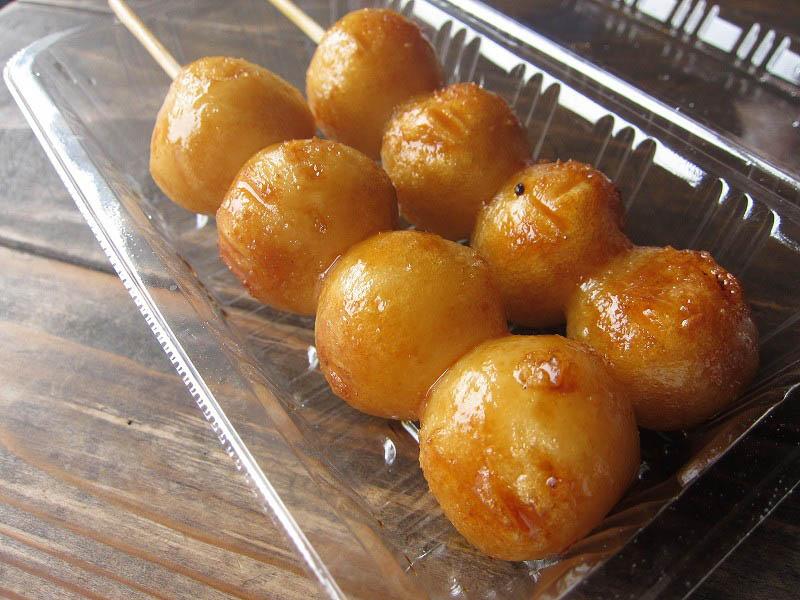 東秩父村安戸「東秩父農産物特売所」の米粉100%だんご