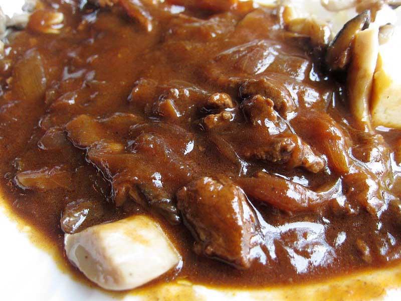 群馬県前橋市 群馬県庁31階「欧州料理 ヴォレ・シーニュ」の復刻版ハヤシライス