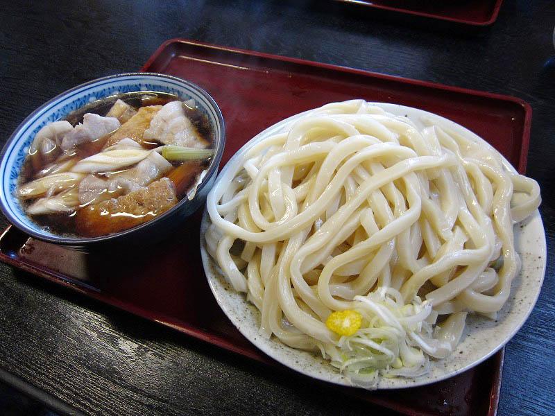 小川町増尾「あそび」の肉汁うどん(特盛り)