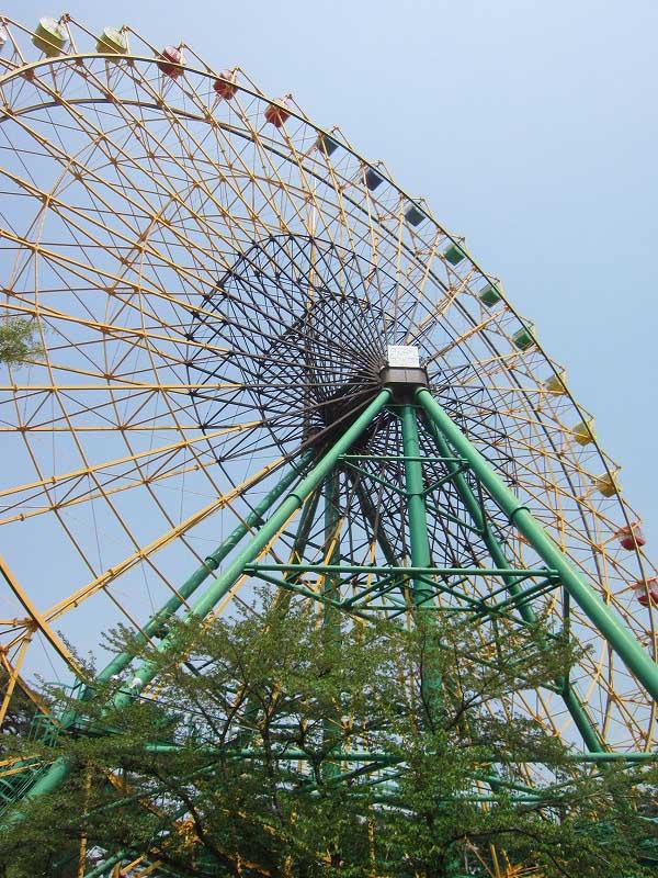 伊勢崎市の遊園地「華蔵寺公園遊園地」 その2