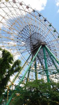伊勢崎の華蔵寺公園遊園地