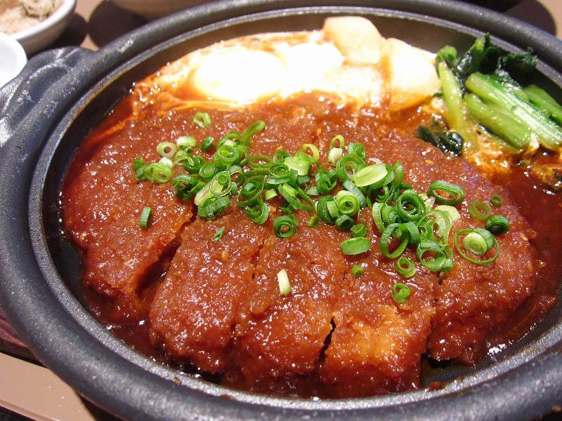 熊谷市新堀「やよい軒 熊谷籠原店」の味噌かつ煮定食