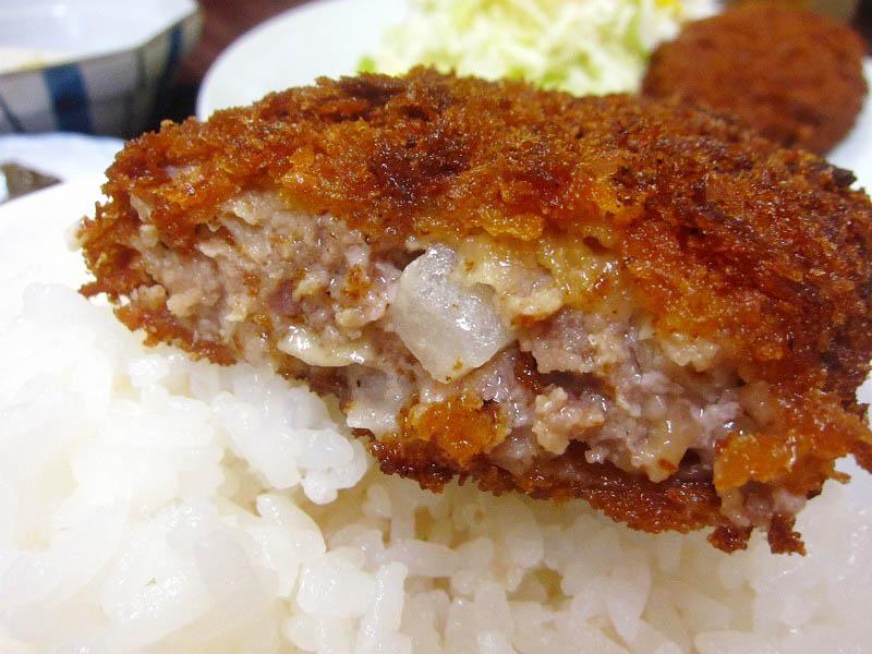 深谷市榛沢「めっちゃごめん」のメンチかつ定食
