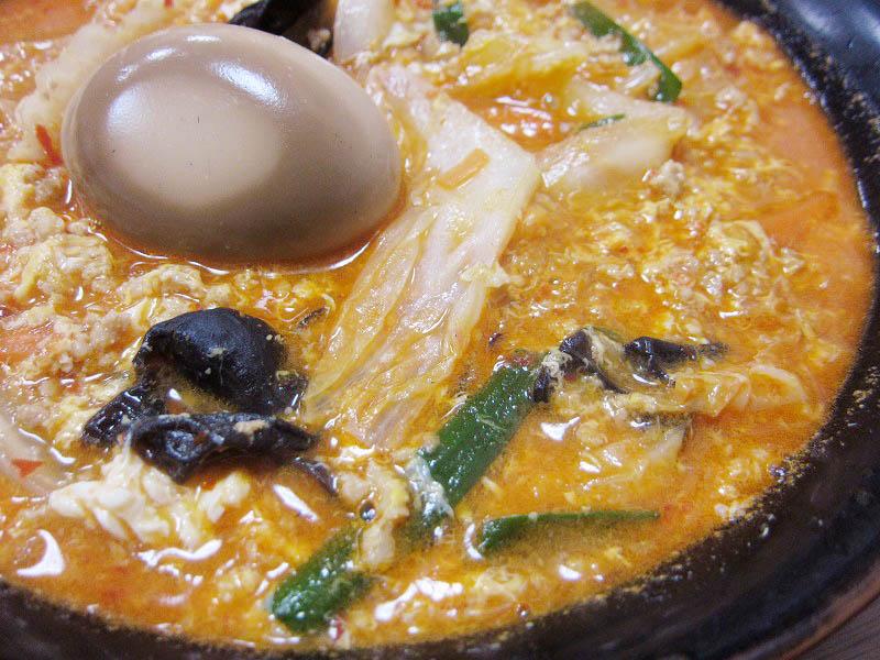 熊谷市弥藤吾「だるま」の特製美味辛地獄ラーメン
