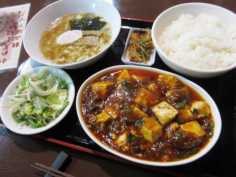 深谷市田中「中華菜館」の麻婆豆腐定食におけるGレシオの考察 その2
