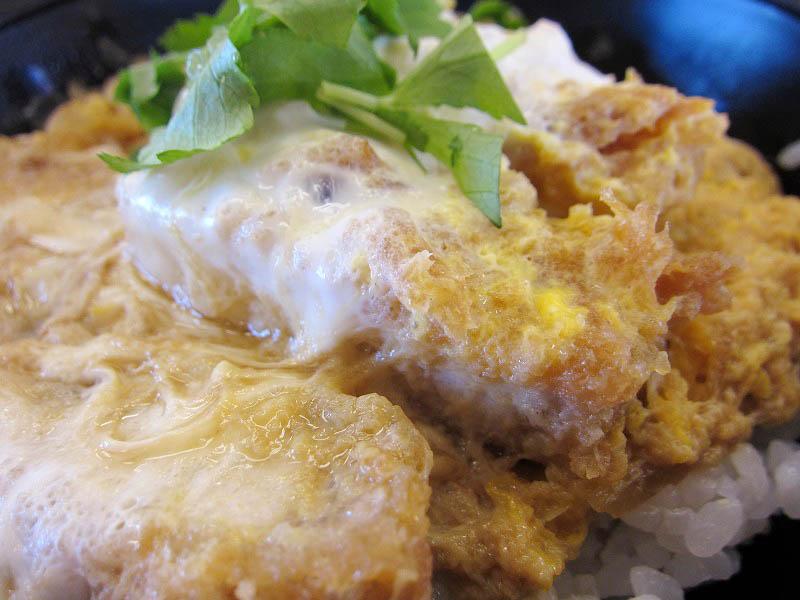 深谷市本住町「かつや」の朝ご飯:ミニカツ丼セット