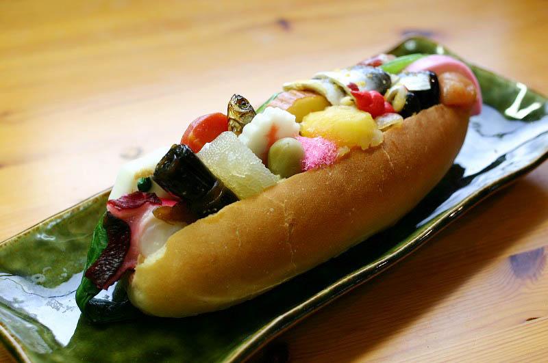 行田市行田「翠玉堂」のおせちパン2015ともちもちベーグル
