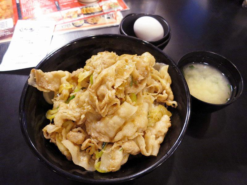 上尾市日の出1丁目「伝説のすた丼屋 上尾店」のすた丼