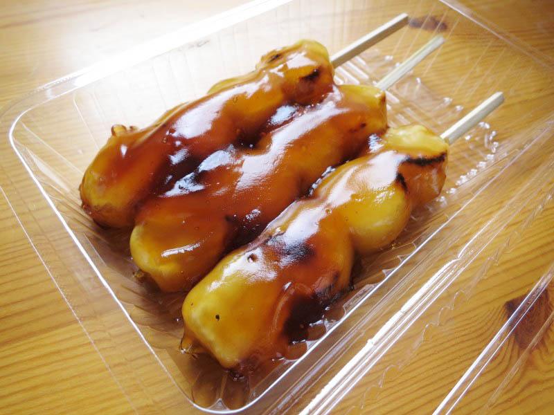 本庄市児玉町児玉「だるまや菓子店」のだんご