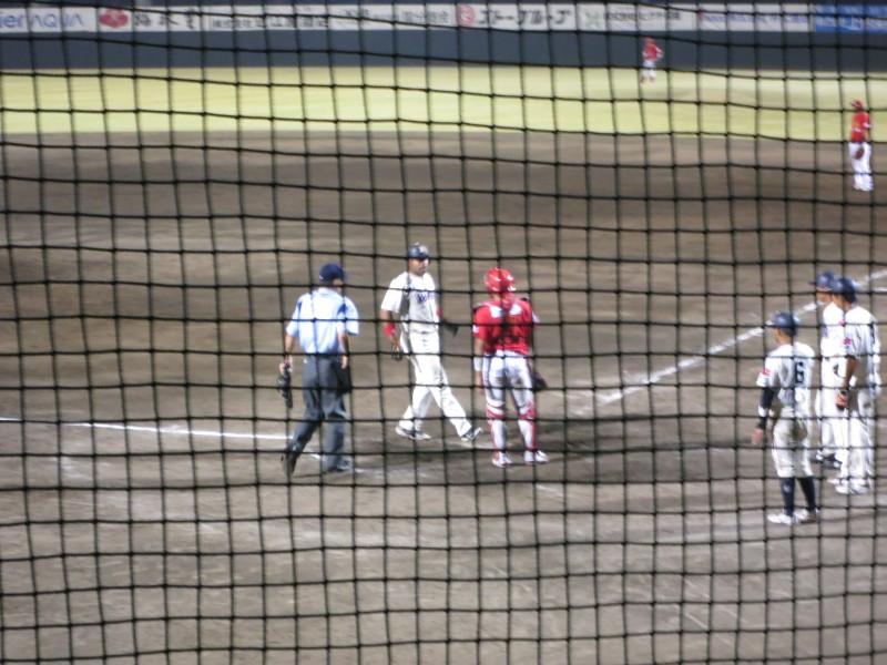 熊谷のプロ野球球団「武蔵ヒートベアーズ」の試合を見に行ってみました 後編