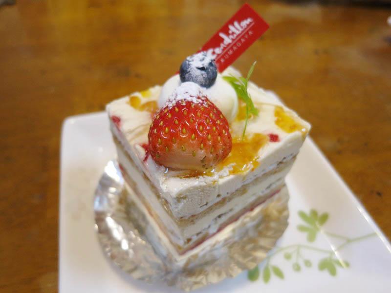 熊谷市広瀬「サンドリヨン」のケーキいろいろ