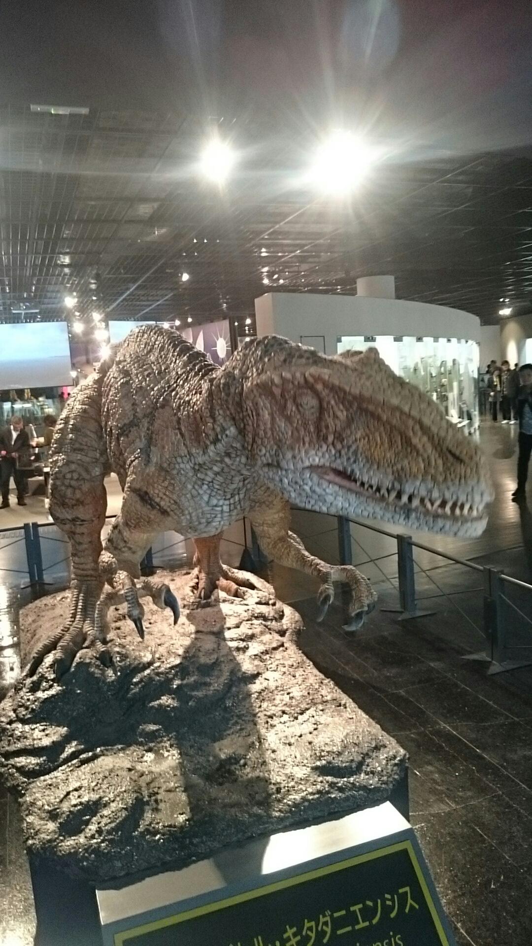 福井の恐竜博物館へ
