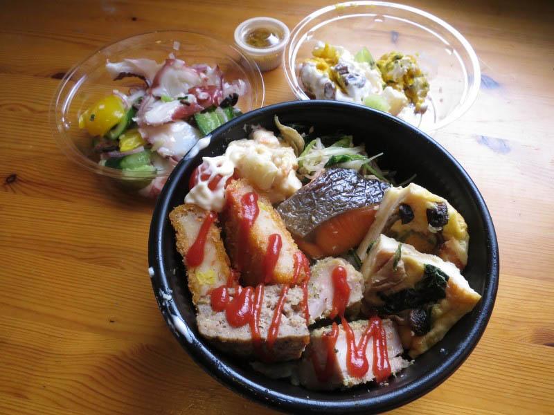 熊谷市仲町八木橋地下1階「ホテル・ヘリテイジ Party Party」のヘリテイジ丼とお惣菜