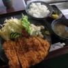 深谷市上野台「三勝」のチキンカツ定食