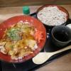 熊谷市新島「仁家」の極旨 豚焼肉丼ミニ麺セット