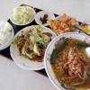 熊谷市別府1丁目「聚福園」の回鍋肉定食