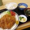 熊谷市新堀「さかもと亭」のランチとんかつ定食