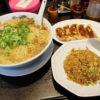 本庄市本庄4丁目「来来亭 本庄店」のがっつりA定食(麺大盛り)