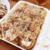 熊谷市妻沼「河内たこ焼き」のたこ焼き(ソース&マヨ・塩)とお好み焼き