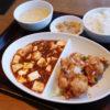 羽生イオン1階レストラン街「紅虎餃子房」のよくばりコンビセット(油淋鶏食べ放題)