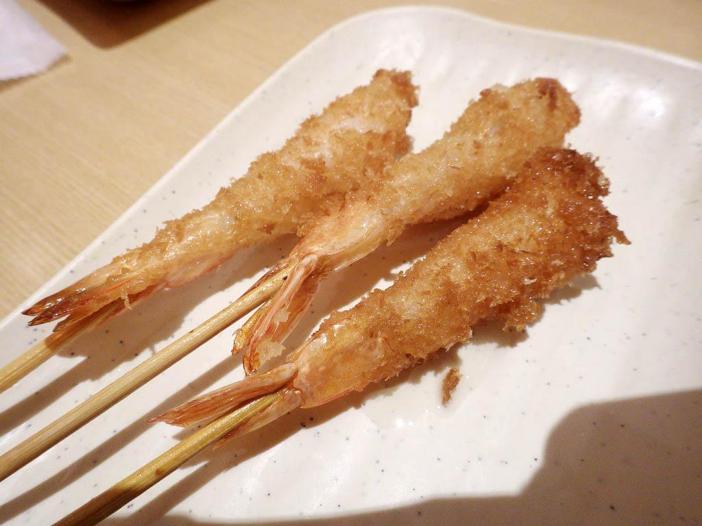 羽生イオン1階レストラン街「串家物語」の串揚げランチタイム食べ放題