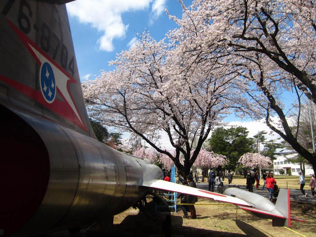 2018年 航空自衛隊熊谷基地の「さくら祭」は4月8日(日)