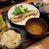 熊谷市下奈良「母めし食堂 のうカフェ」の母めし定食(銀鮭の塩麹づけ)